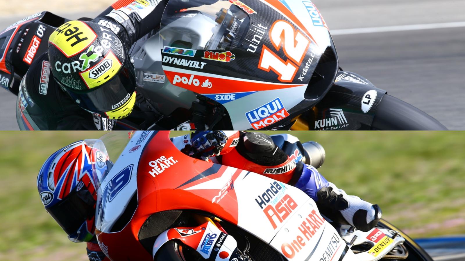 Thomas Luthi y Ai Ogura acaban al frente de Moto2 y Moto3 en el test de Jerez