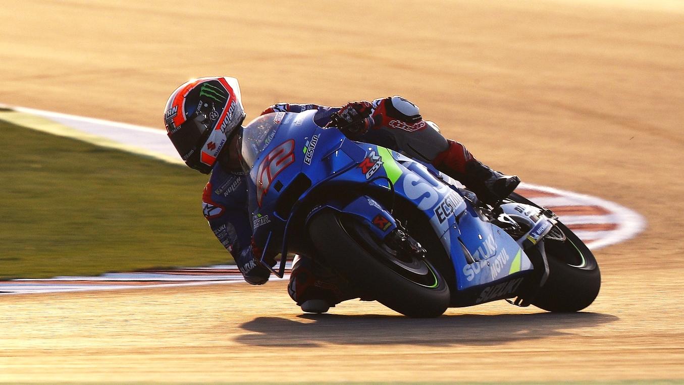 Álex Rins y Joan Mir ponen a Suzuki en lo alto del test de MotoGP 2020 en Qatar
