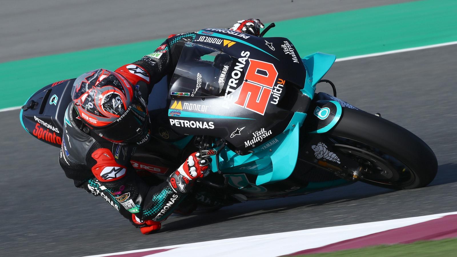 Fabio Quartararo supera a Álex Rins el segundo día del test de MotoGP 2020 en Qatar