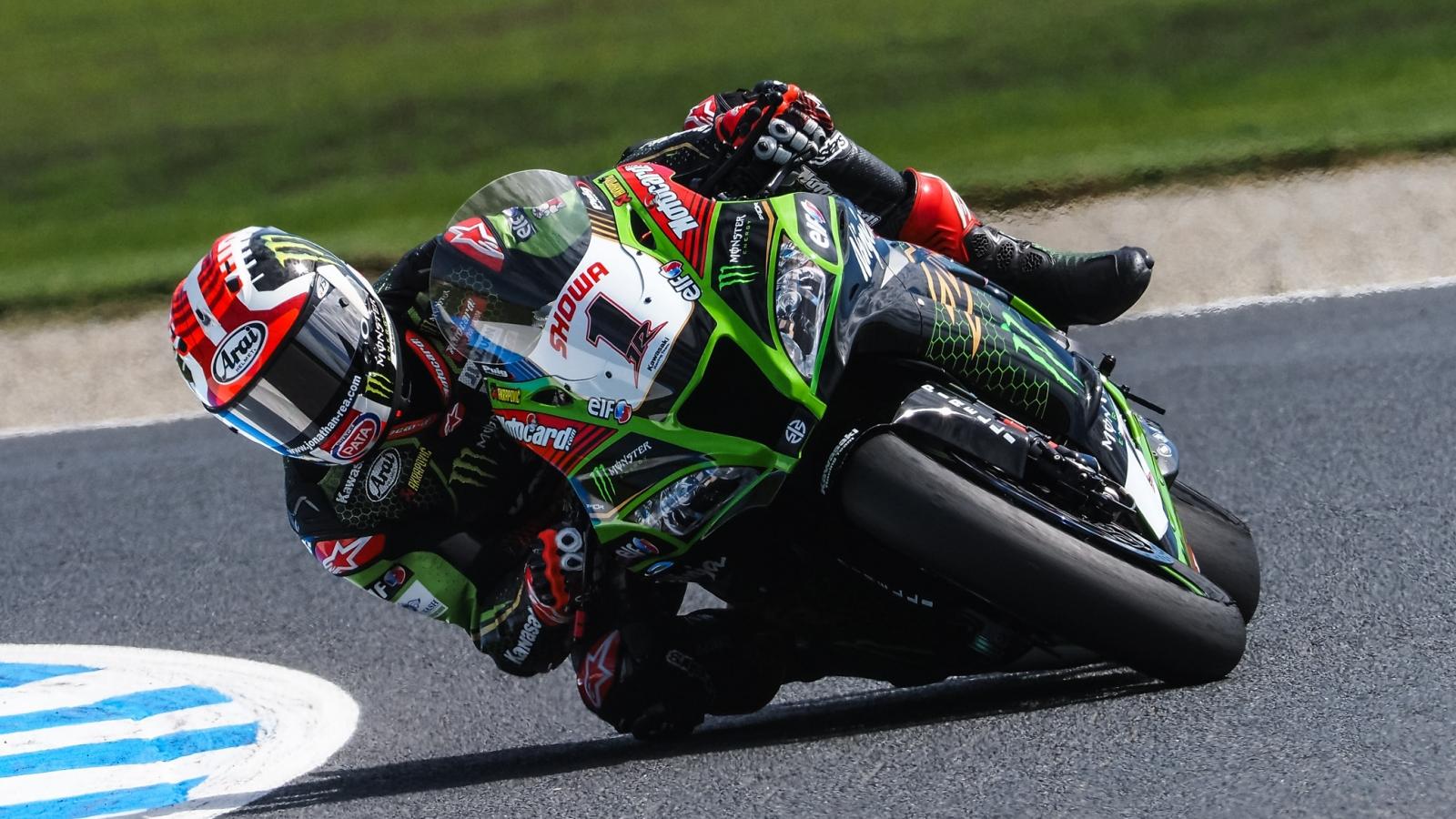 Jonathan Rea asoma y Álvaro Bautista mejora mucho en el último test antes de Superbike 2020