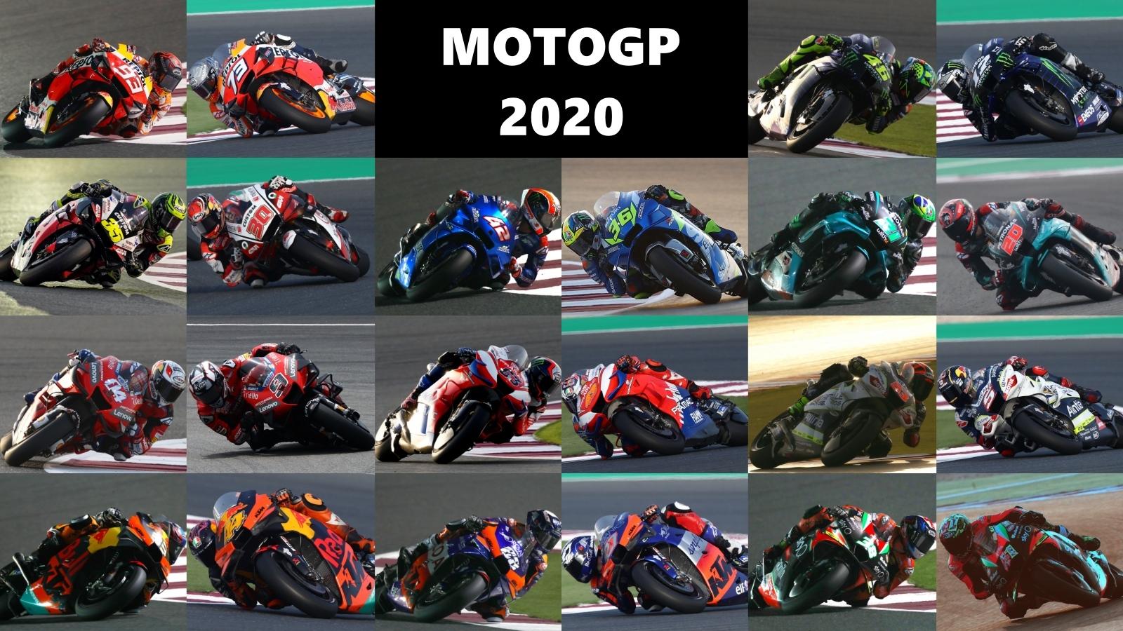 Los 22 pilotos de MotoGP 2020, en números