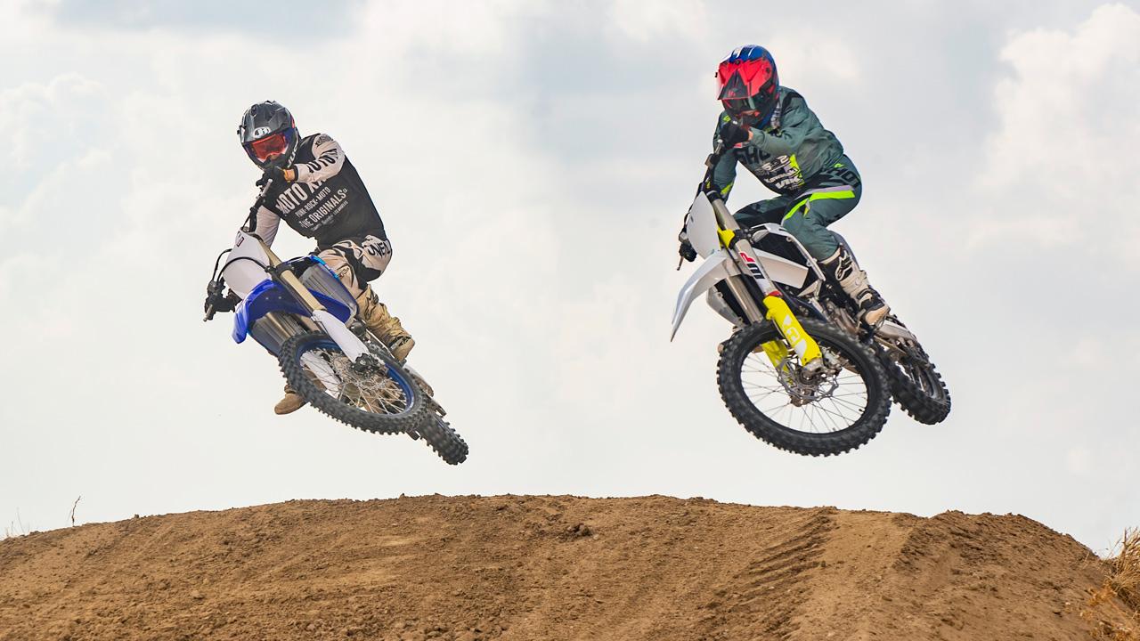 Comparativa motocross 250 4T 2020, Husqvarna FC 250 y Yamaha YZF 250