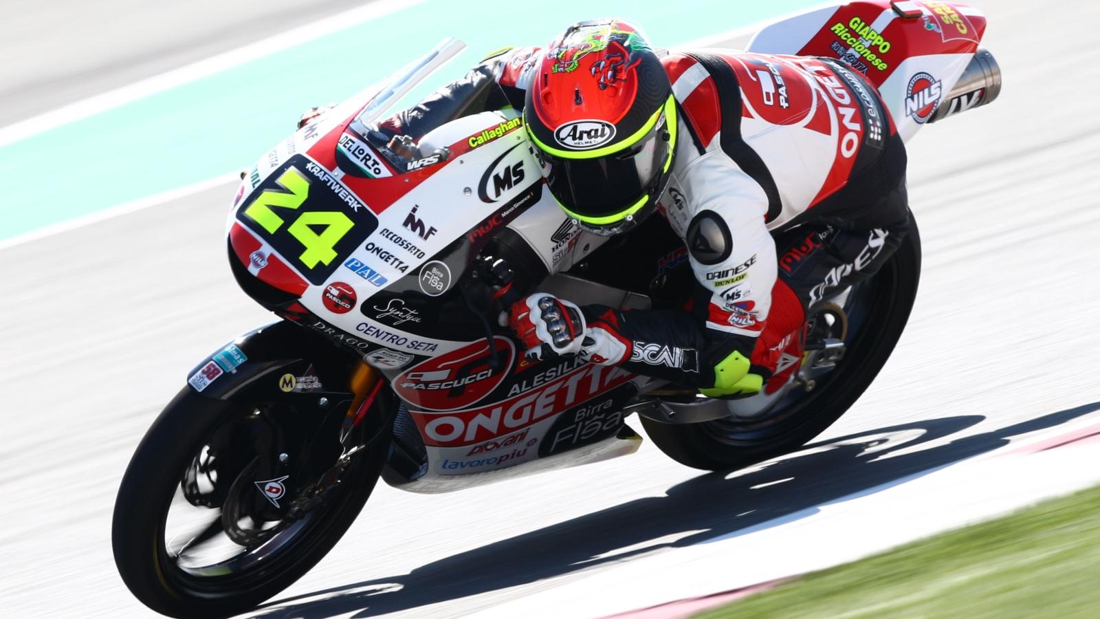 Tatsuki Suzuki salva la pole de Moto3 en Qatar por ocho milésimas ante Raúl Fernández