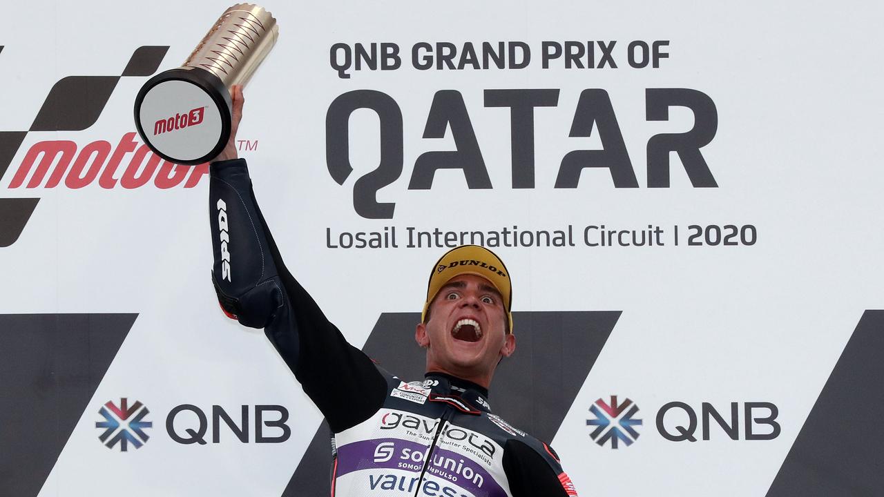 Albert Arenas, victoria 100 de KTM y liderato