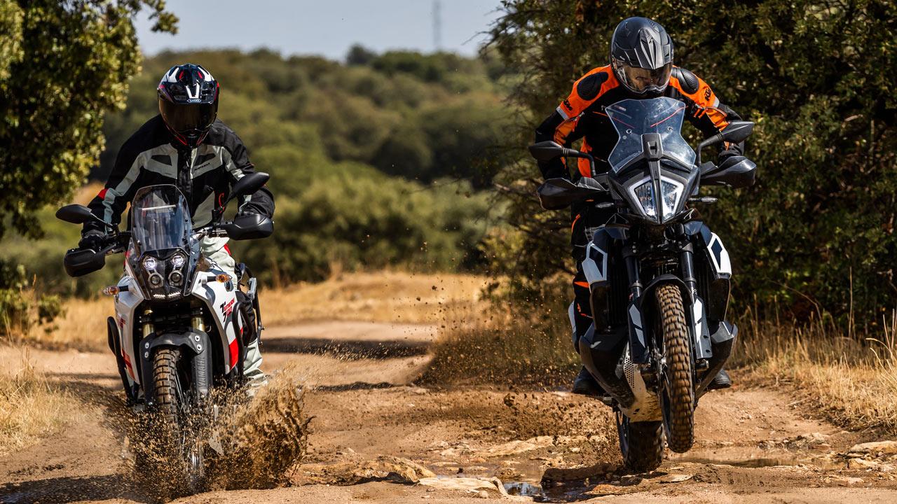 KTM 790 Aventure S y Yamaha Ténéré 700, comparativa trail off road