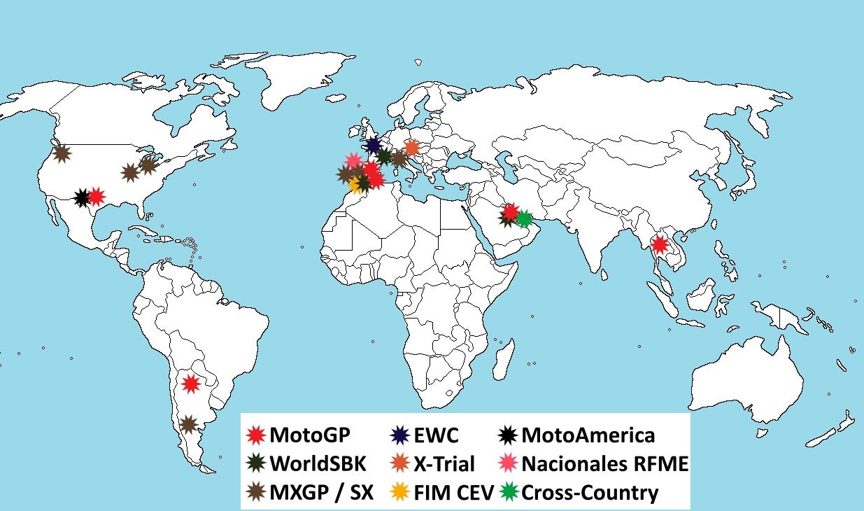 Coronavirus y motociclismo: Todas las cancelaciones, aplazamientos y otras consecuencias