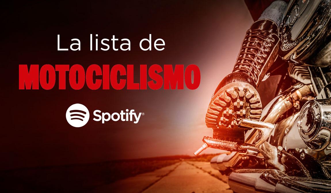 Tú eliges la música que suena en MOTOCICLISMO