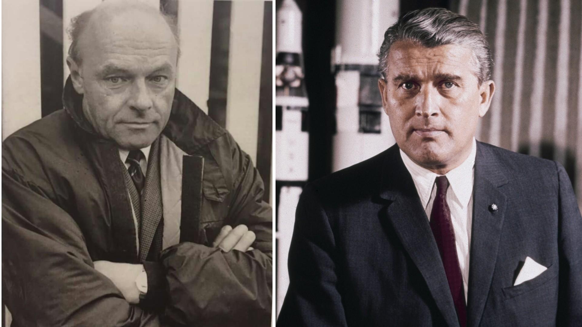 Von Braun y Kaaden, vidas divergentes para un pasado común