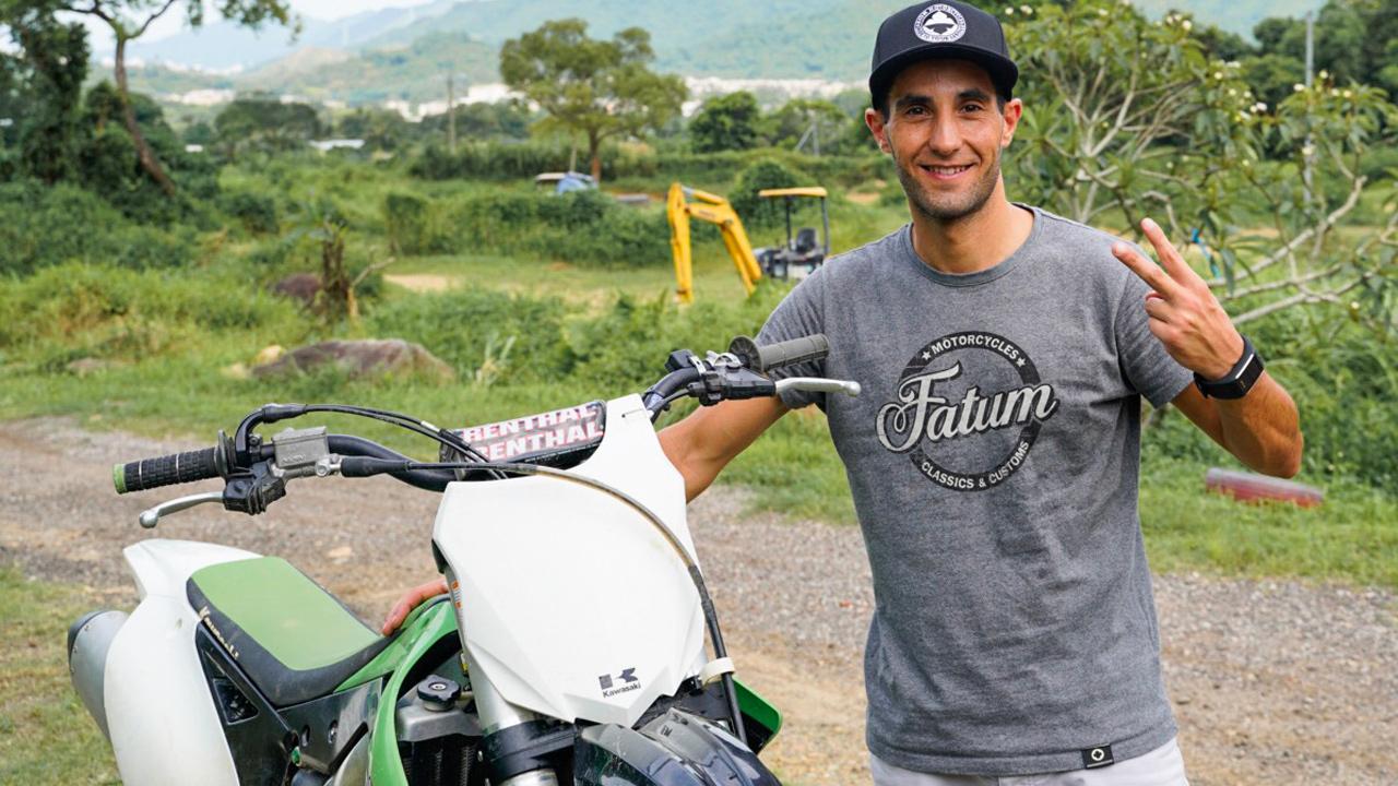 """Adrián Garrido: """"al volver de Macao a España, avisé a mis allegados que el virus llegaría a todo el mundo""""."""