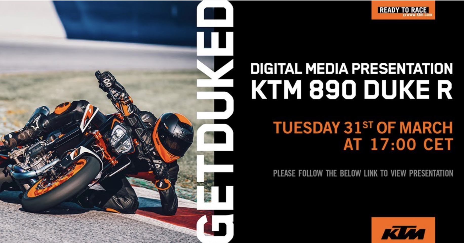 En directo [17:00]: Sigue la presentación de la KTM 890 Duke R 2020