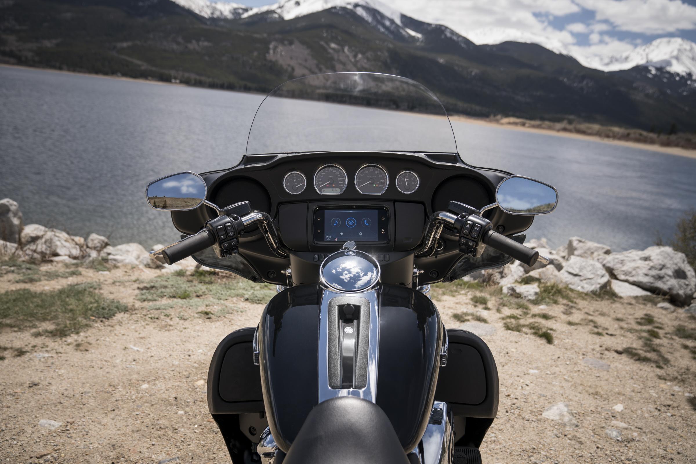 Las Touring de Harley-Davidson con Android Auto
