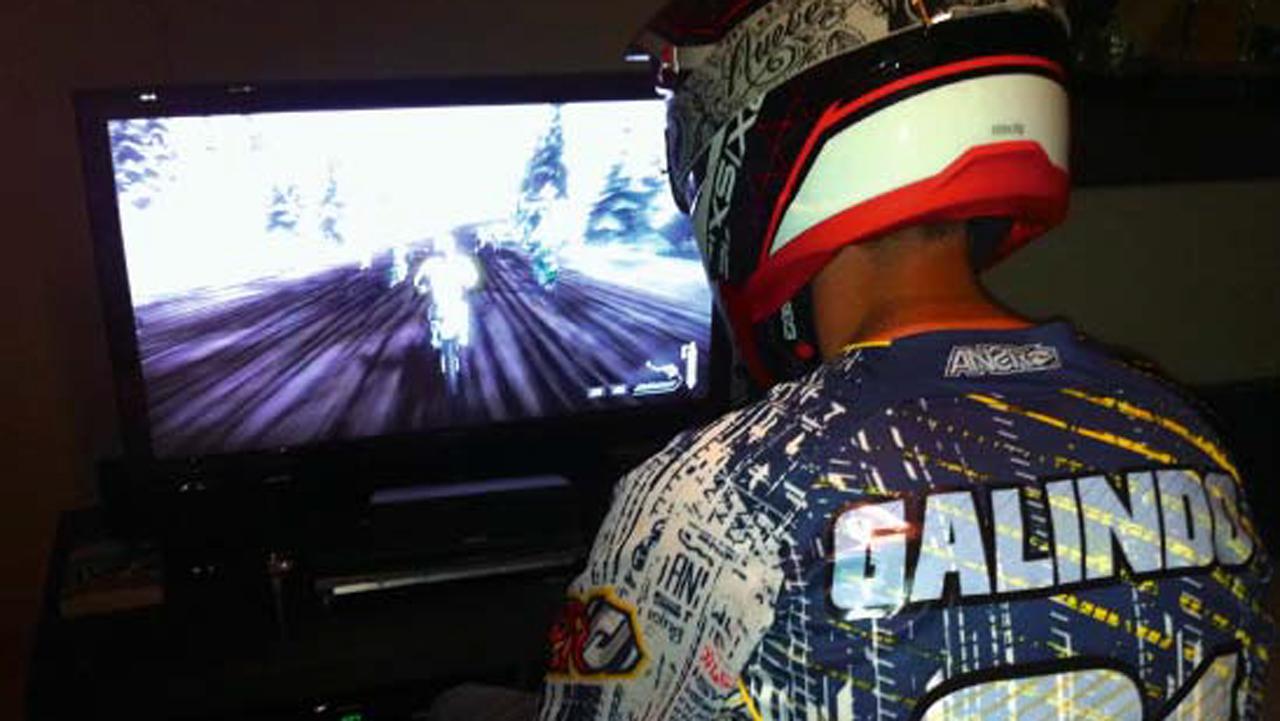 """""""Off road"""" virtual, videojuegos para aficionados a la moto de campo"""