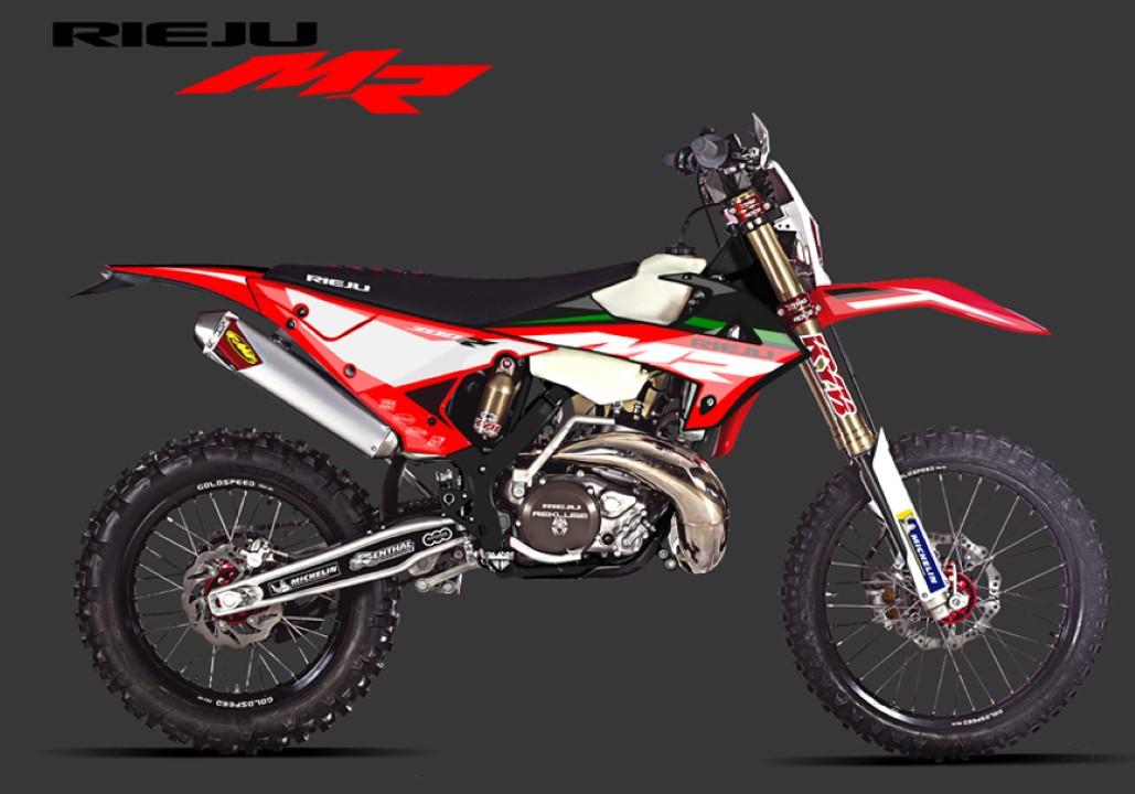 Rieju muestra su enduro MR Racing 300