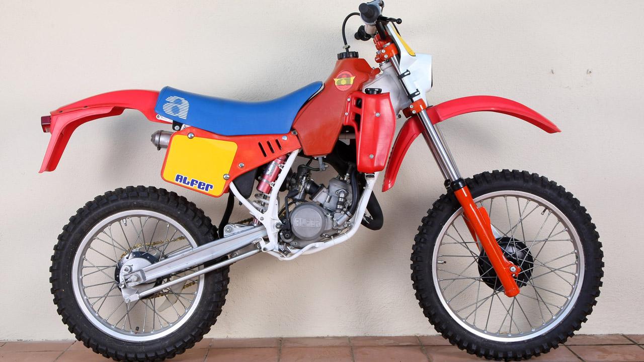 Moto clásica: Alfer 80 GR 1985