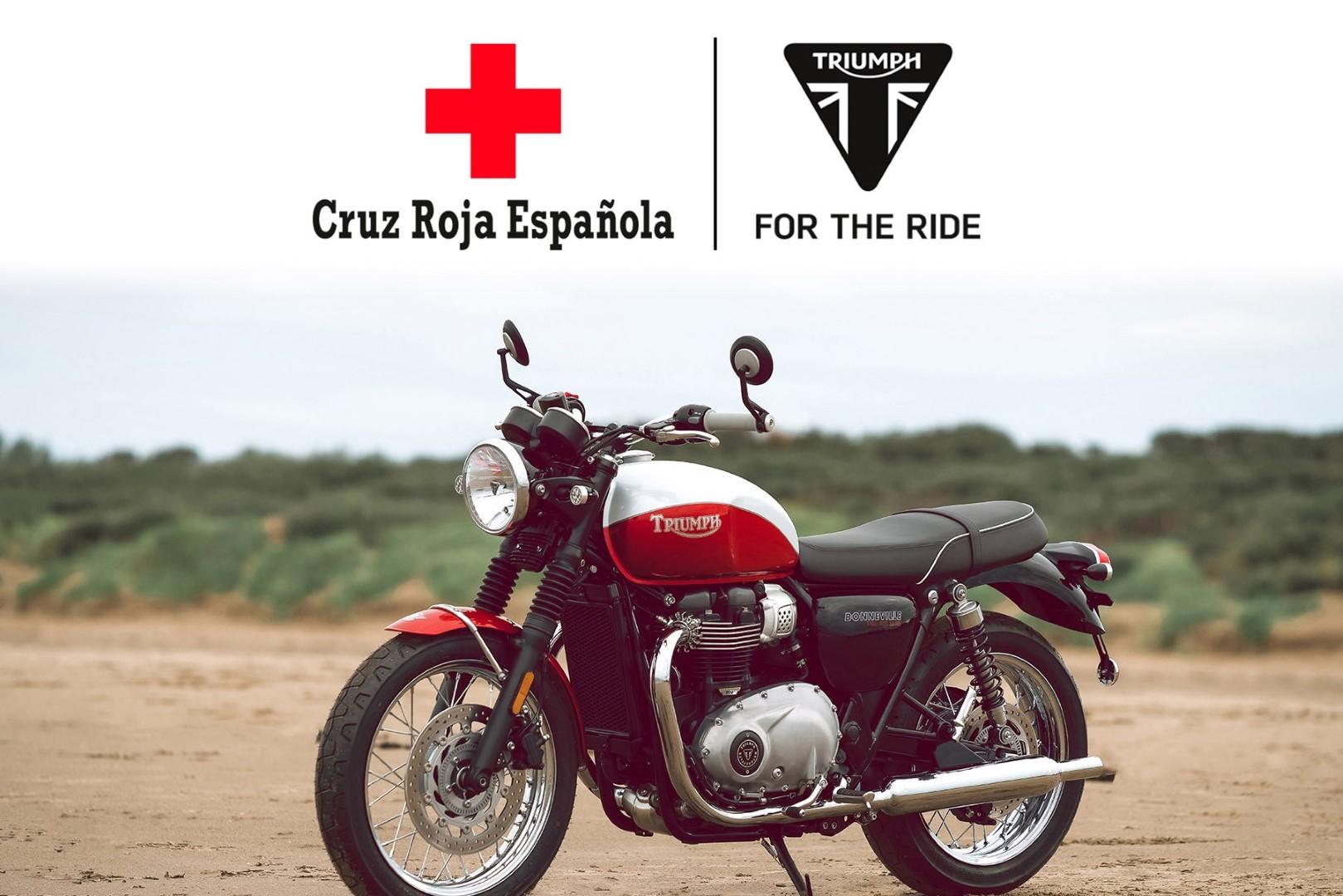 Triumph sorteará una Bonneville y donará lo recaudado a Cruz Roja RESPONDE para frenar el Coronavirus