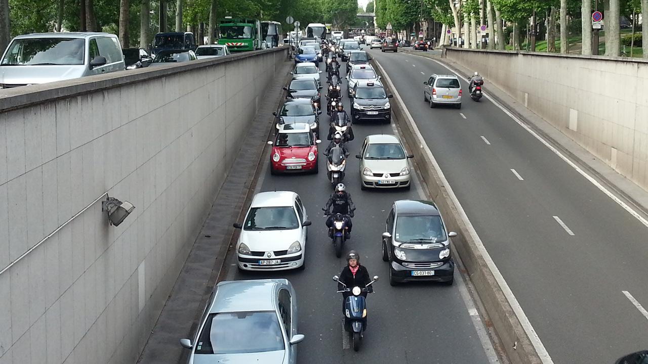 Evolución del tráfico por efecto del COVID-19