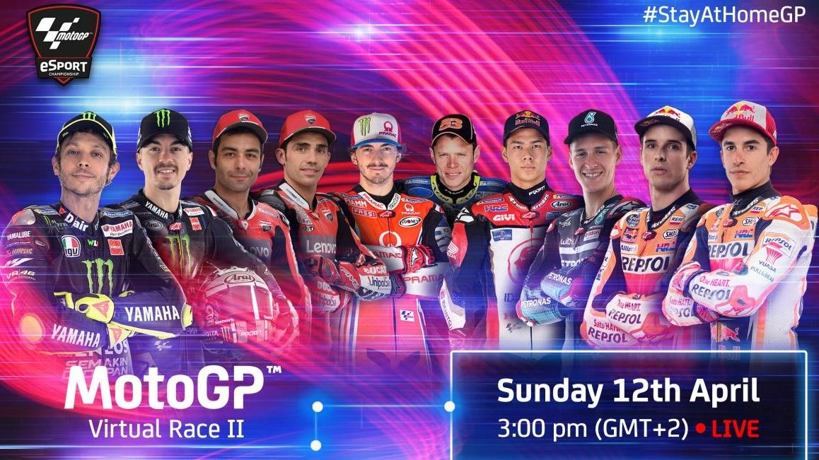 Valentino Rossi será la gran novedad en la segunda Carrera Virtual de MotoGP