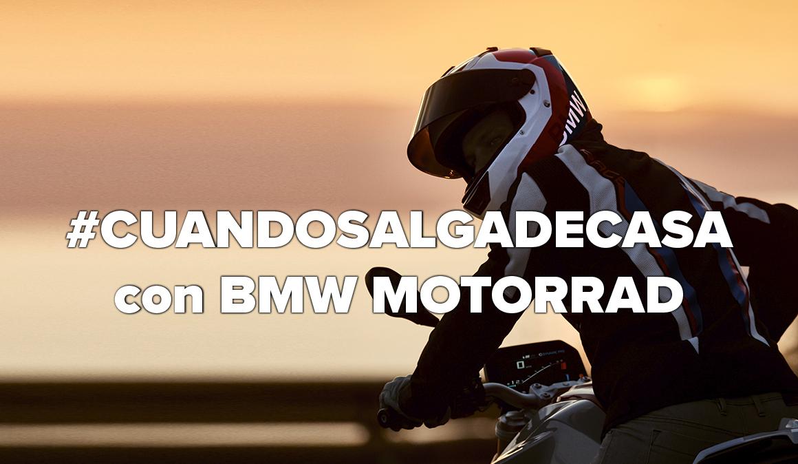 El mejor plan al acabar el confinamiento, te invitamos a probar las nuevas BMW F 900