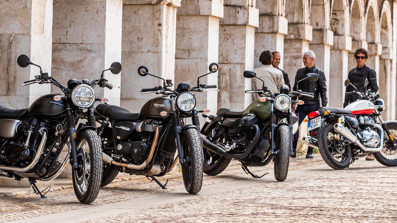 Neumáticos para motos clásicas y custom
