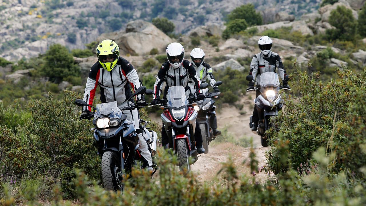 Informe de neumáticos para motos trail