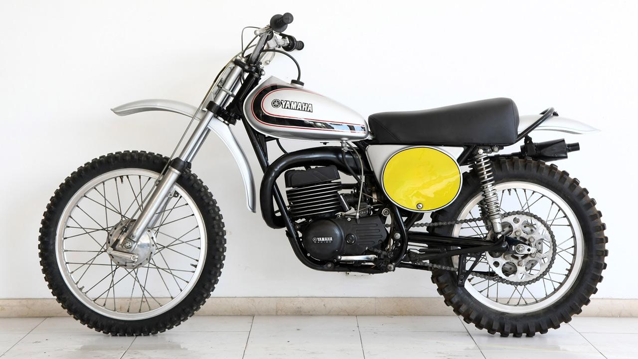 Moto clásica: Yamaha RT1 360 MX 1972