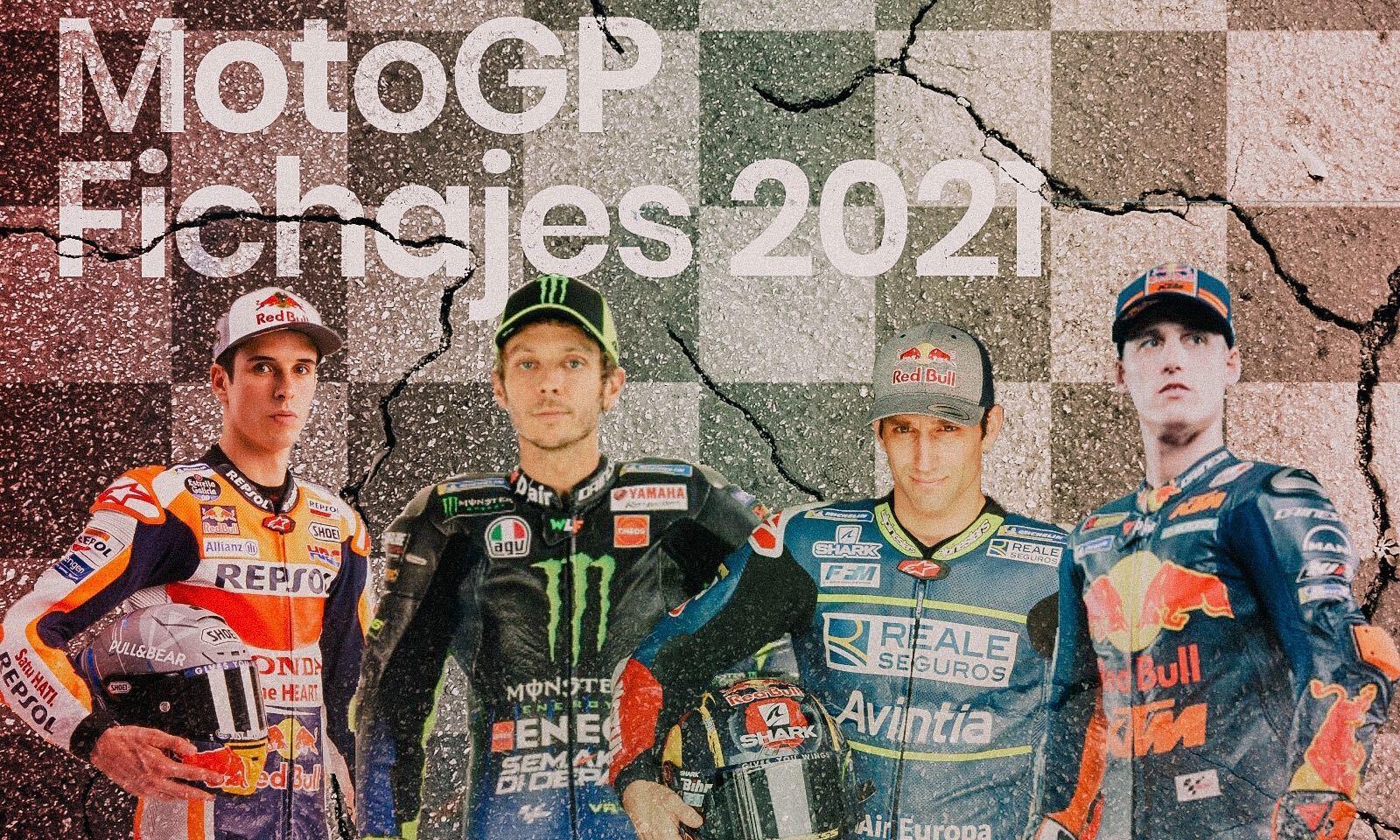 Mercado de fichajes para 2021 en MotoGP, Moto2, Moto3 y Superbike