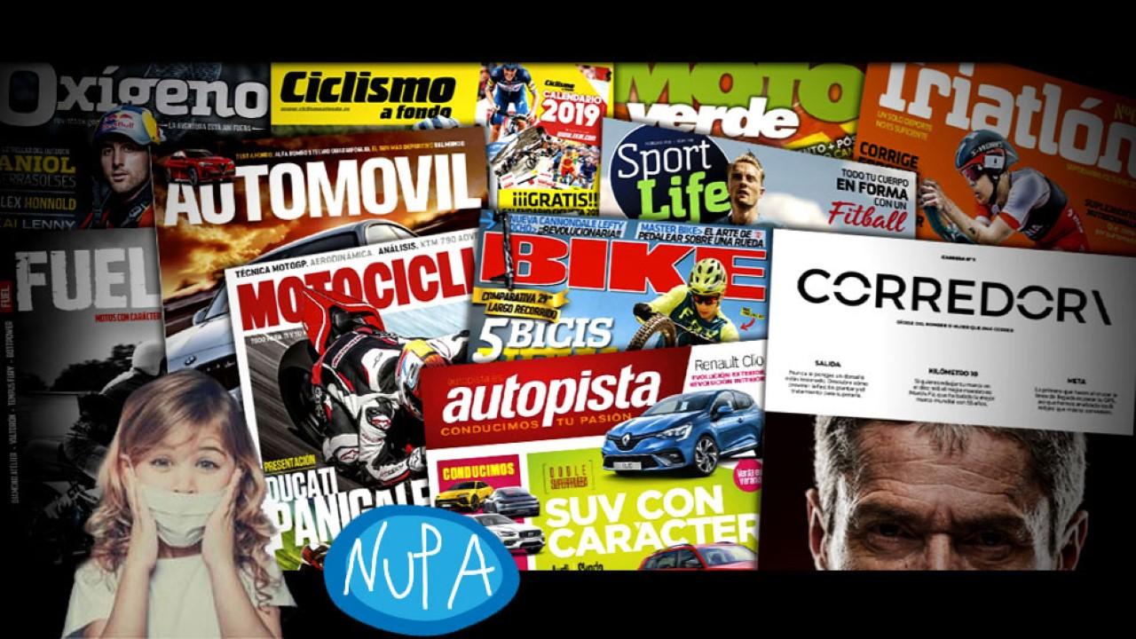 Premio a la solidaridad: con NUPA una suscripción gratis a una de nuestras revistas