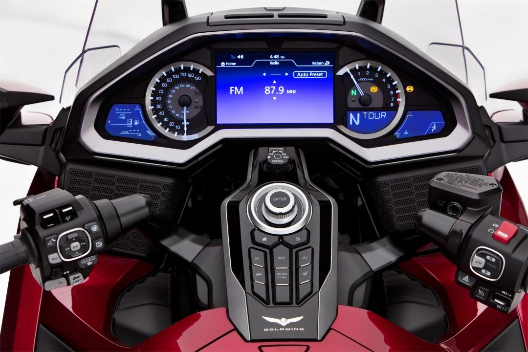 Honda incorpora el sistema Android Auto a la GL1800 Gold Wing