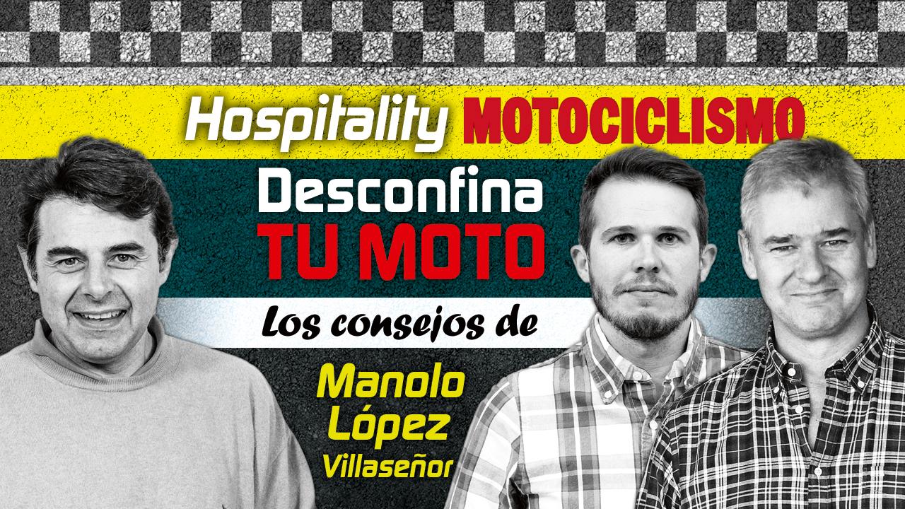 Hospitality MOTOCICLISMO 06: Consejos para desconfinar tu moto