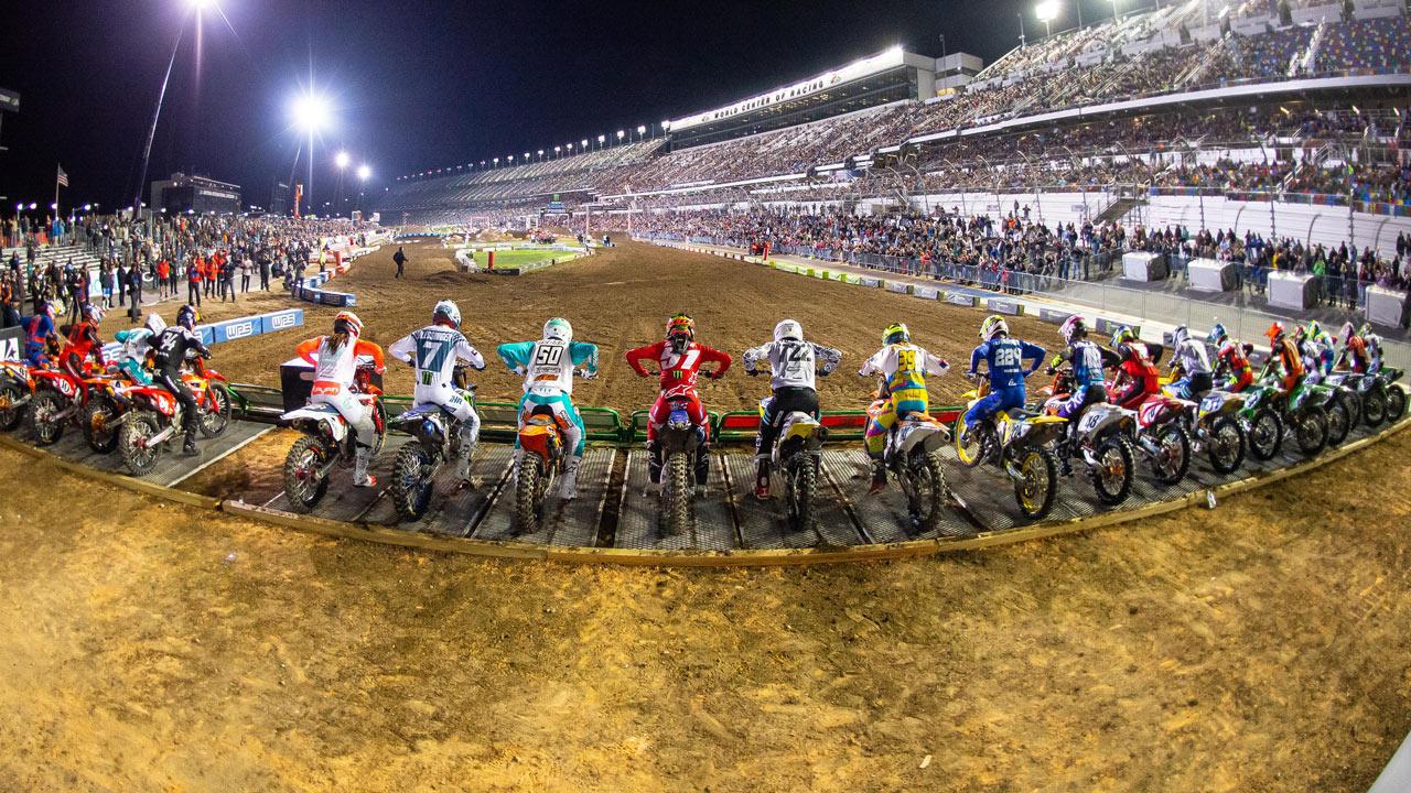 El Mundial de Supercross vuelve a la competición