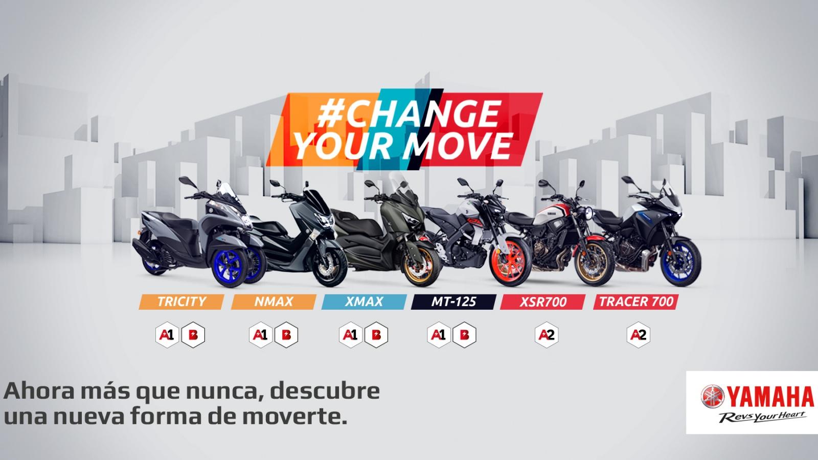 Yamaha lanza una promoción de ventas para promover la moto en la nueva movilidad