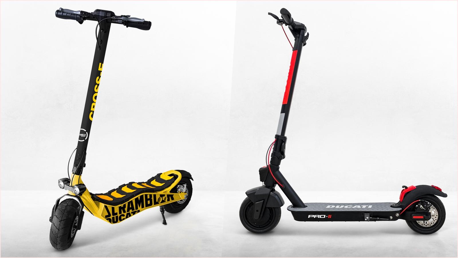 Ducati Scrambler Cross-E y Ducati Pro II, primeros modelos de la nueva línea de movilidad eléctrica