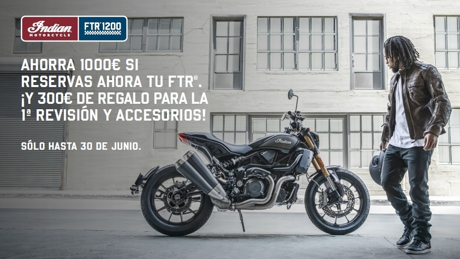 Indian lanza 'Restart your ride', tres ofertas acumulables para que retomes la moto