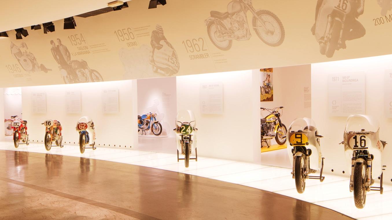 Vídeo: Visita virtual al museo Ducati