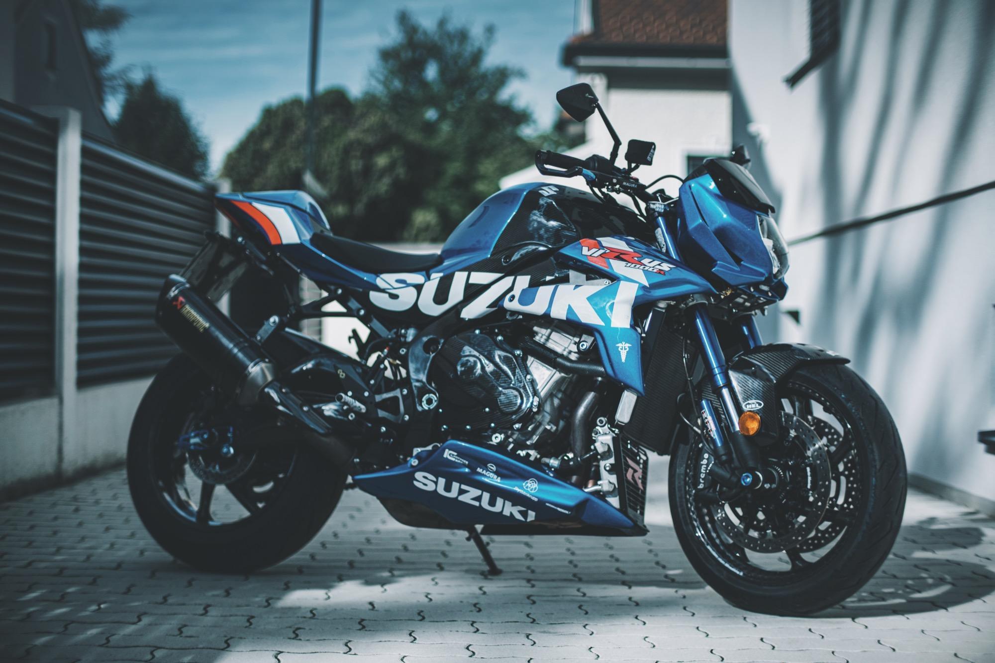 Virus, la naked de más de 200 Cv de Suzuki » La Moto | La Moto
