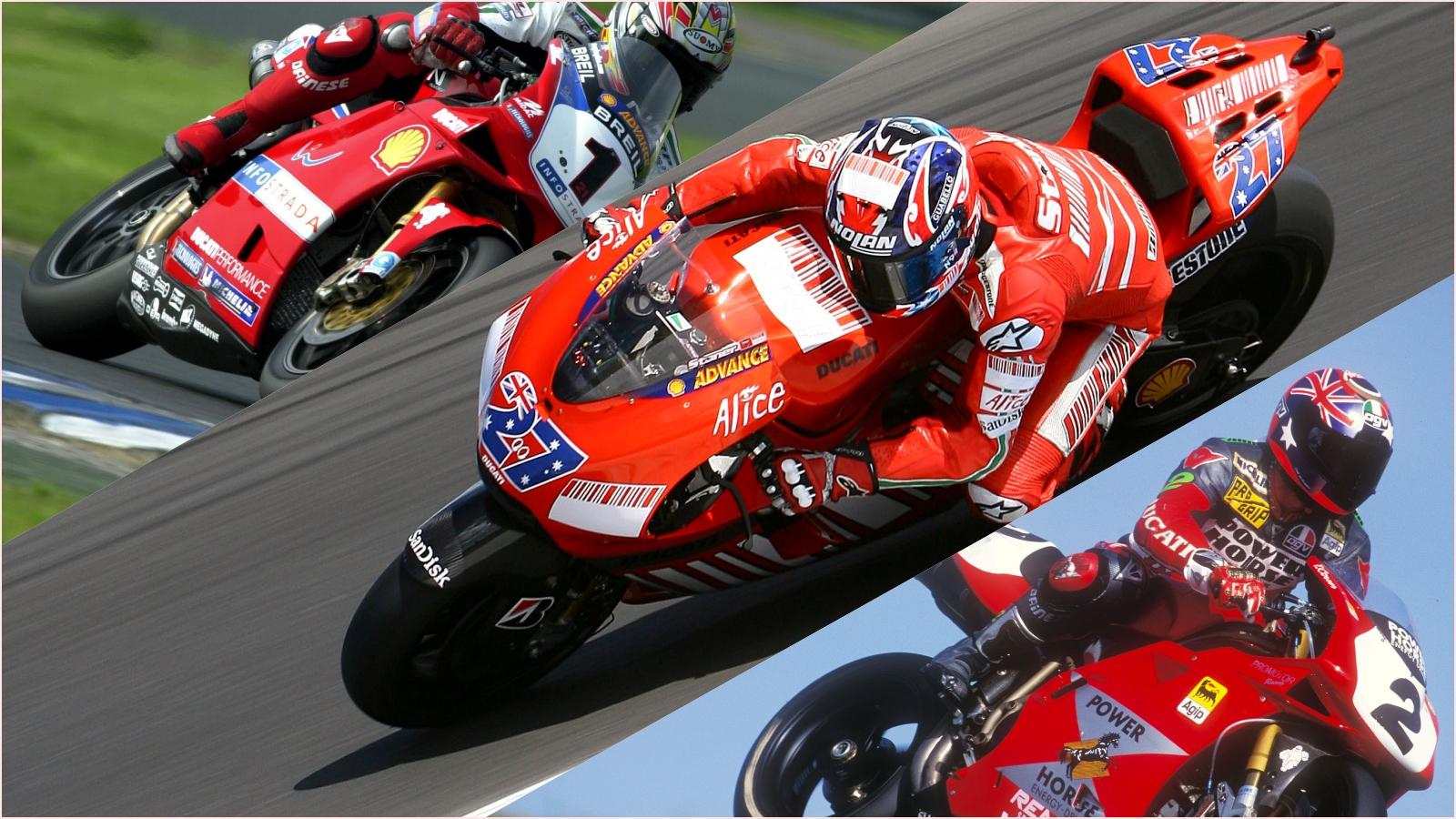 Ducati y los pilotos australianos, un idilio de 25 años
