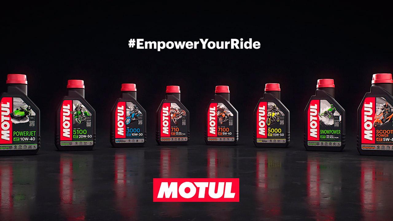 Motul actualiza la imagen de su gama Powersport