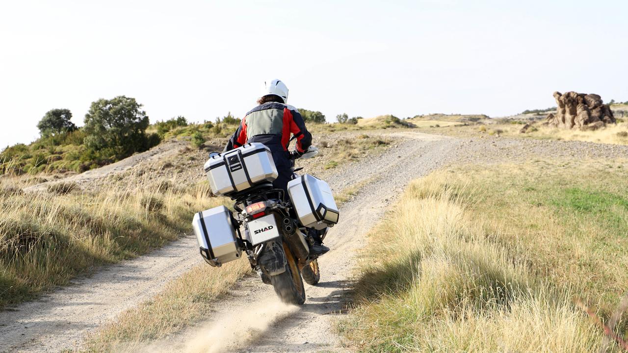 Shad Terra, maletas de aluminio para moto
