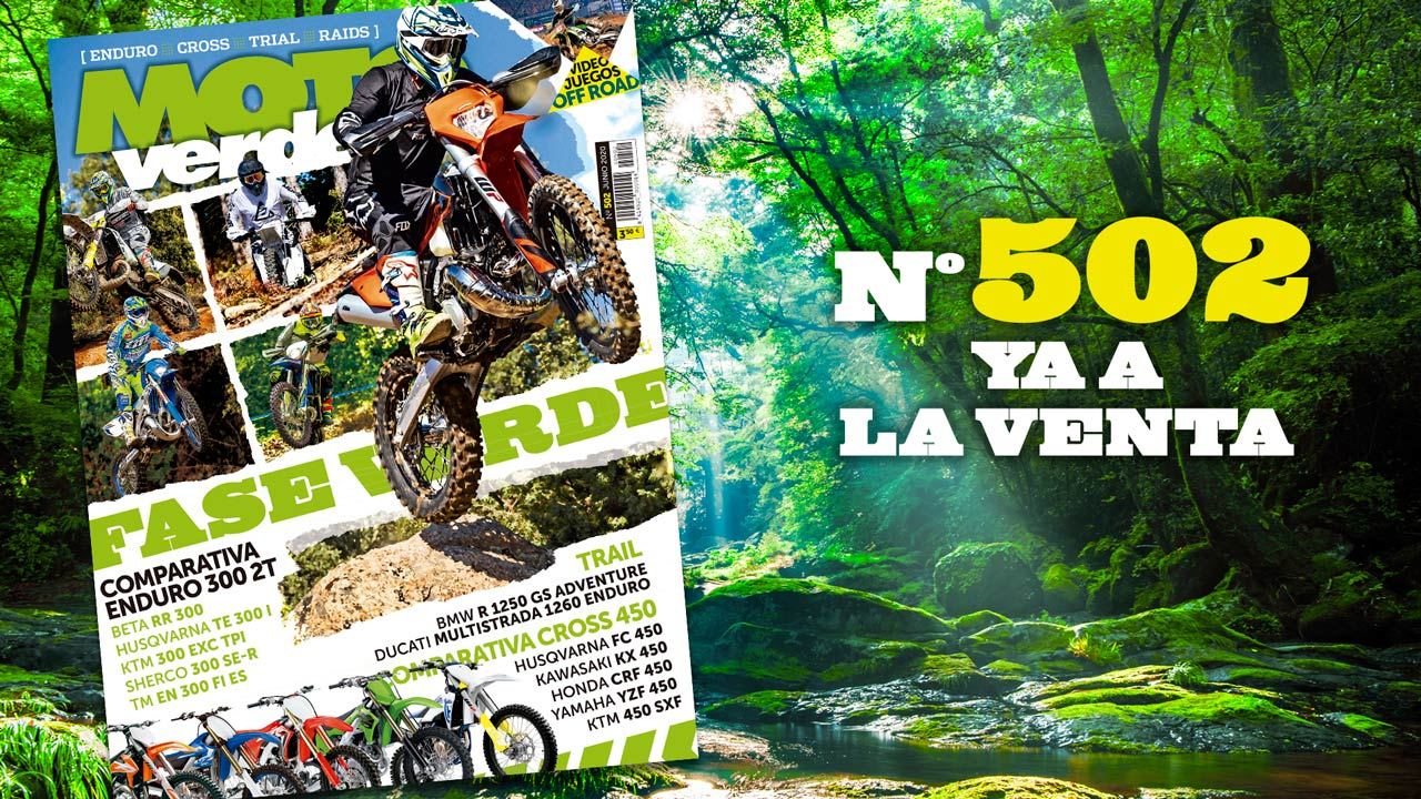 MOTO VERDE 502, contenidos y sumario de la revista