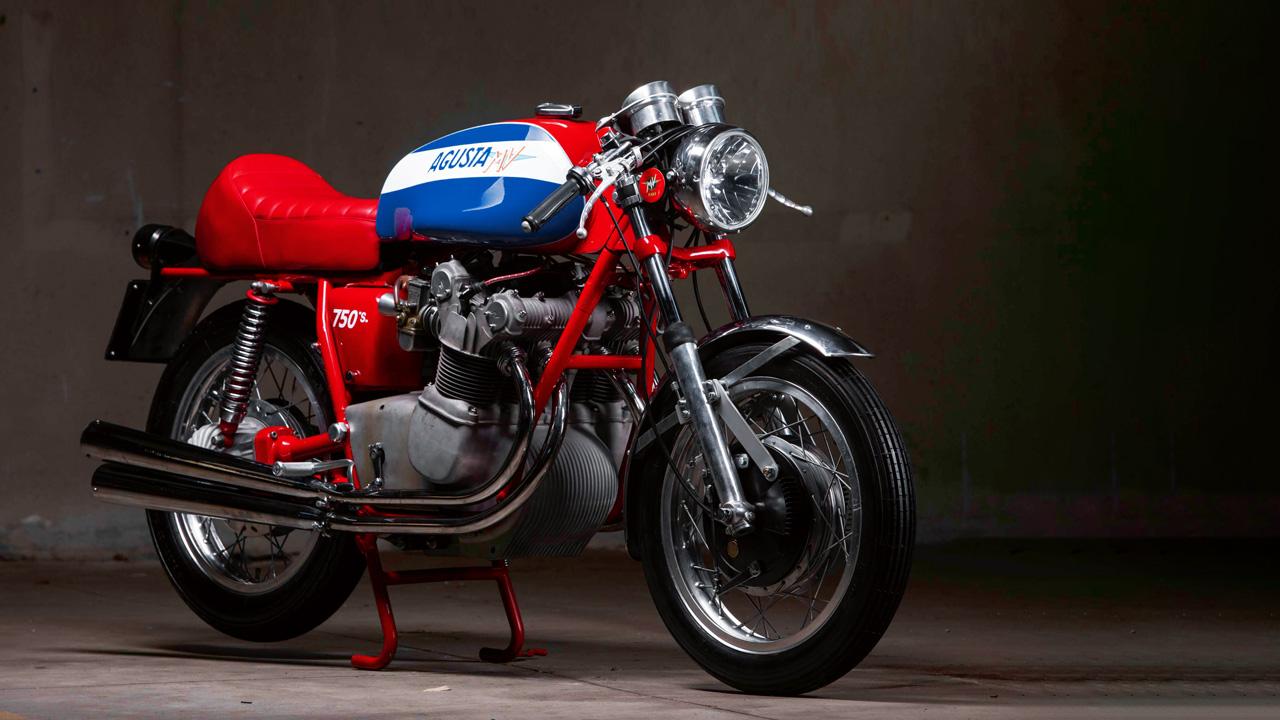Moto clásica: MV Agusta 750 S 1970
