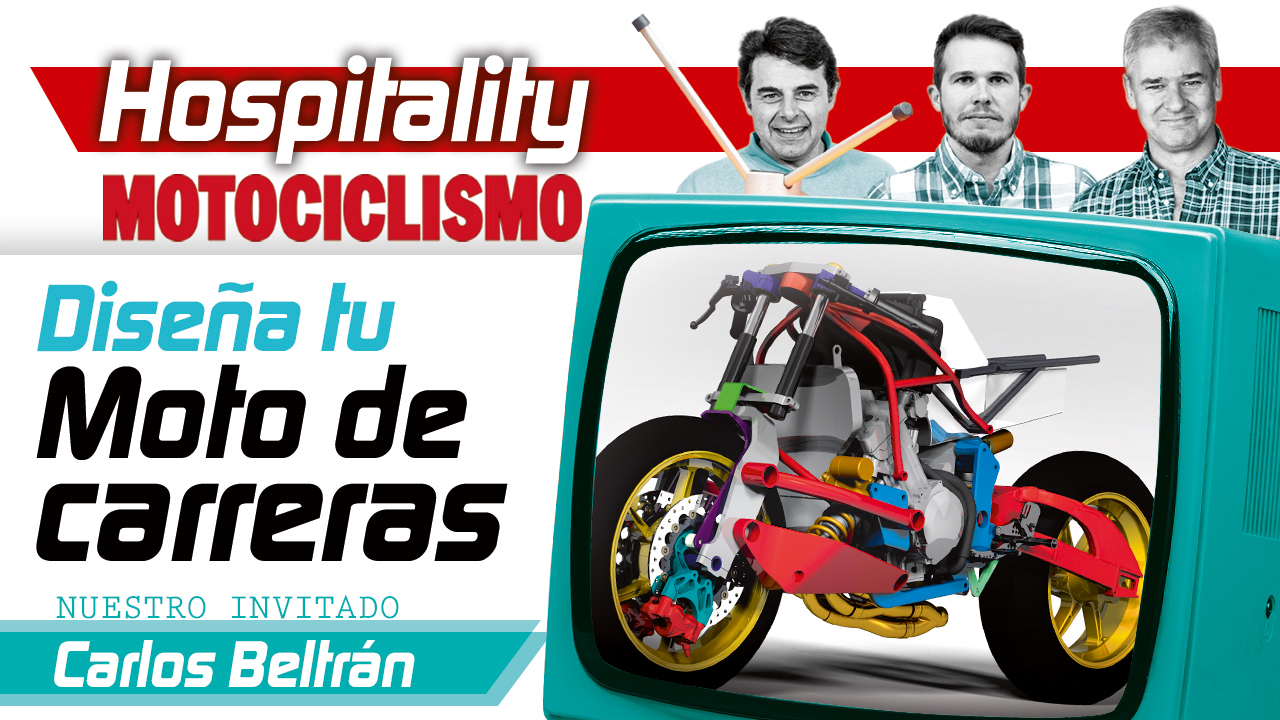 Hospitality MOTOCICLISMO 09: Diseña tu moto de carreras