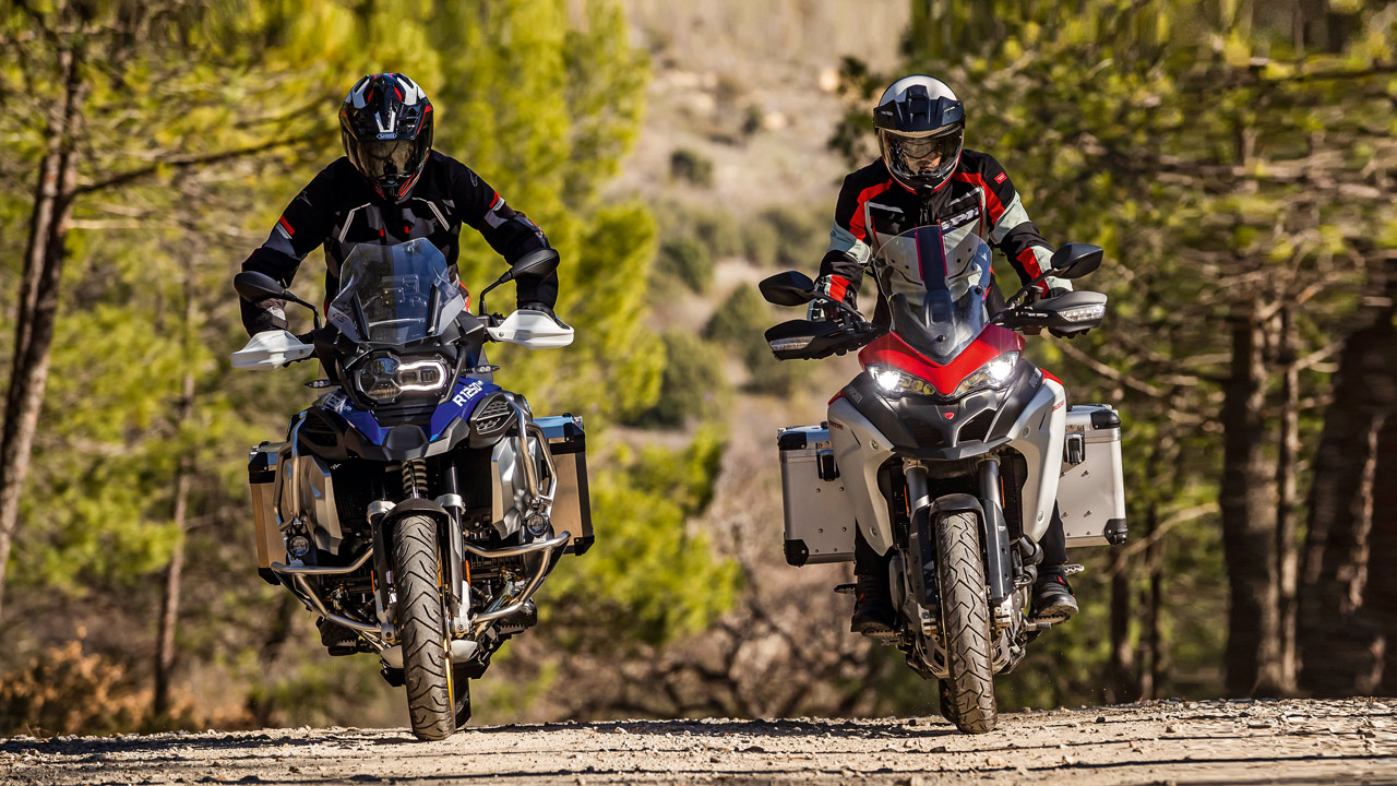 Comparativa maxitrail off road: BMW R 1250 GS Adventure HP y Ducati Multistrada 1260 Enduro