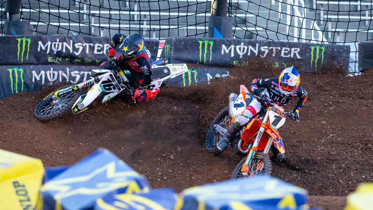 Supercross Salt Lake City 6: Cooper Webb retrasa el alirón de Eli Tomac