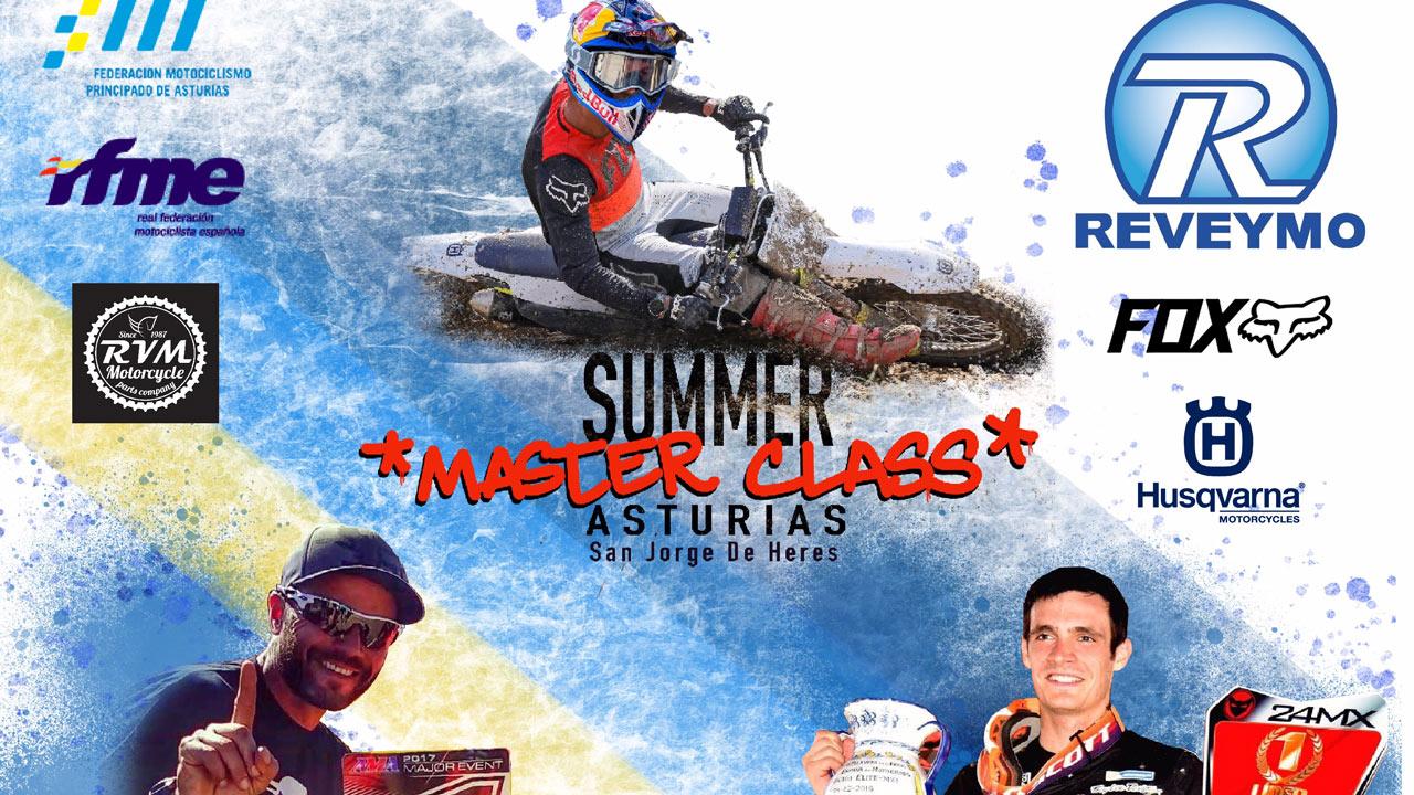 Master Class en la MX Summer Week con Ander Valentin y Xevi Colomer