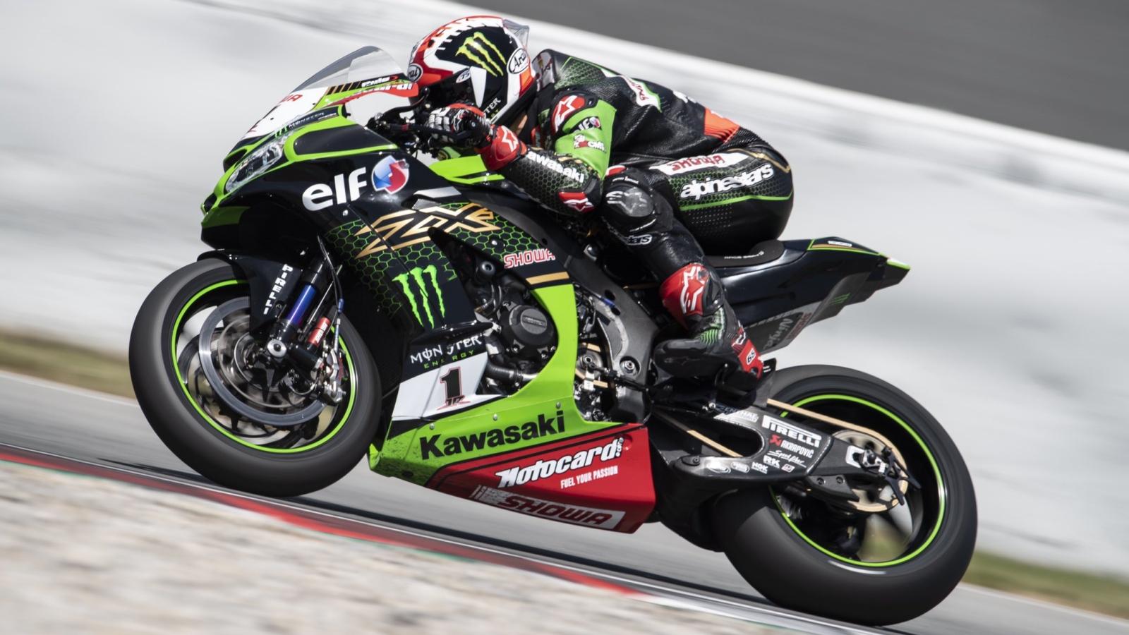 Jonathan Rea despide los test de SBK en Catalunya volando a ritmo de MotoGP