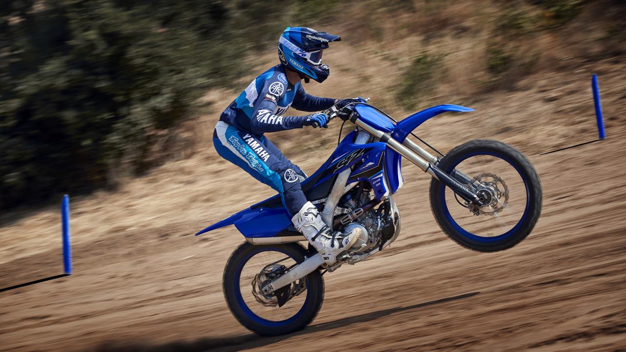 Yamaha YZF 250 2021, novedades