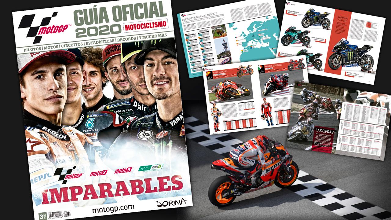 Guía Oficial MotoGP 2020 ¡Ya a la venta!