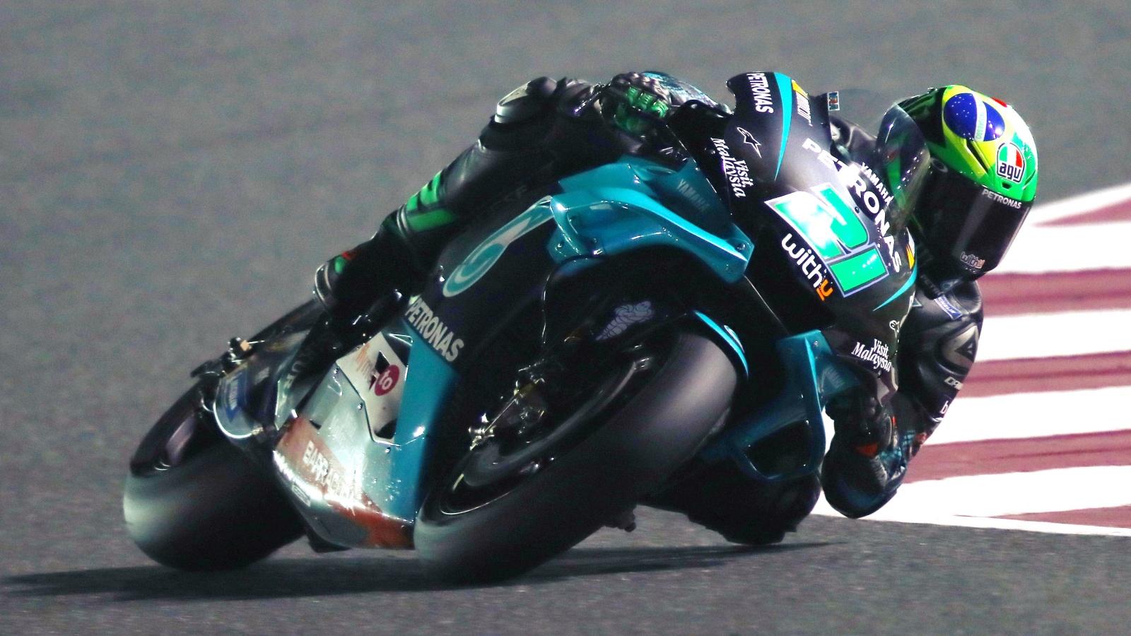 Franco Morbidelli renueva con el Petronas Yamaha SRT hasta MotoGP 2022