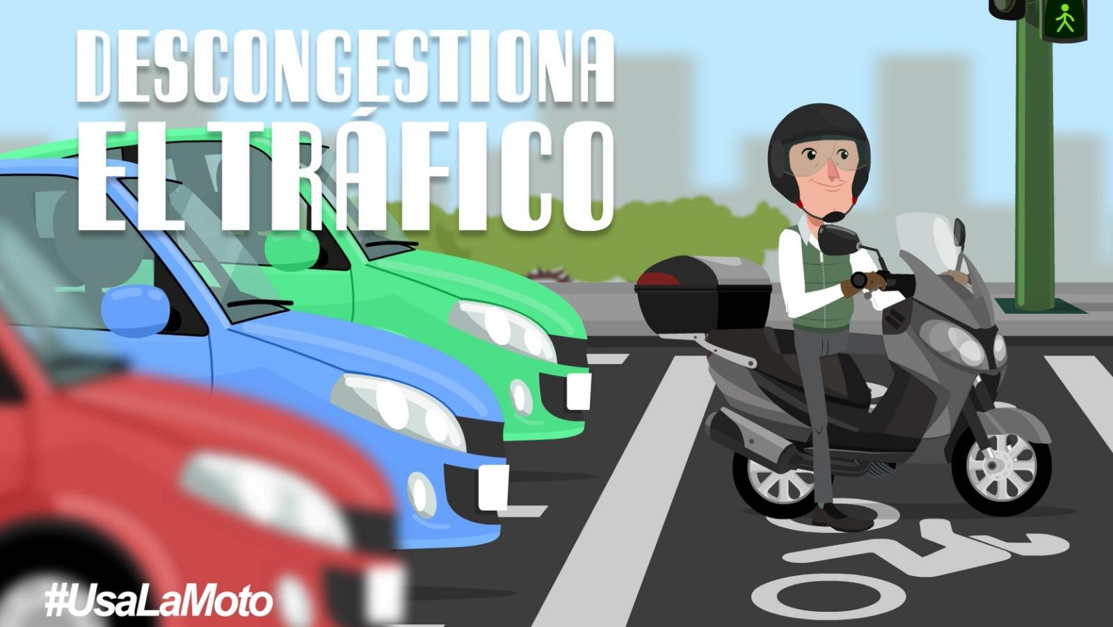 #UsaLaMoto para ir al trabajo en la nueva movilidad: ágil, económica, sostenible y rápida