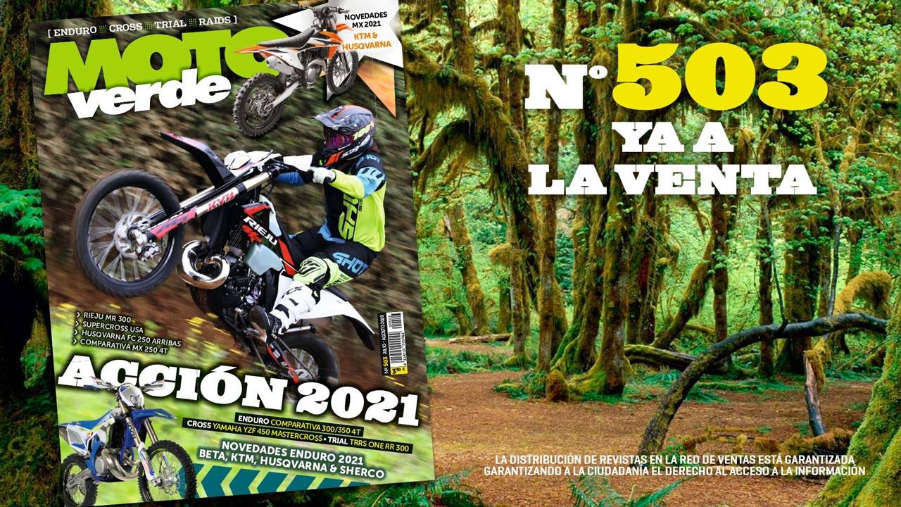 MOTO VERDE 503, contenidos y sumario de la revista